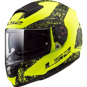 Casque FF397 - VECTOR  - EVO SIGN MATT  Matt Yellow Black