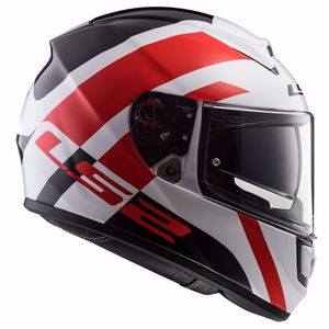 Casque FF397 VECTOR HPFC EVO TRIDENT  White/red