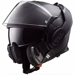 Casque FF399 - VALIANT - MATT BLACK LIMITED EDITION  Matt black