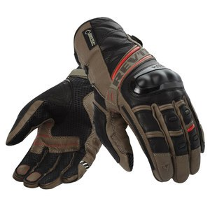 Gants DOMINATOR GORE-TEX  Sable/Rouge