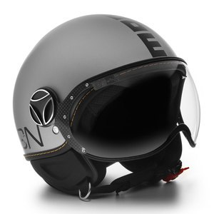 Casque FIGHTER EVO MAT  Alu/Noir