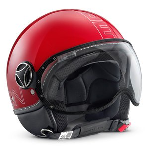 Casque FIGHTER GLAM  Rouge/Blanc