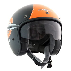 Casque FIREWORK  Noir/Orange