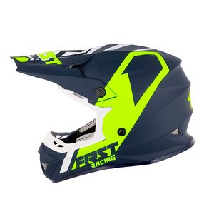 Casque cross K2 POLYCARBONATE - BLUE FLUO WHITE 2021 Blue Fluo White