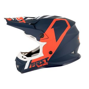 Casque cross K2 POLYCARBONATE - BLUE WHITE RED 2021 Blue White Red