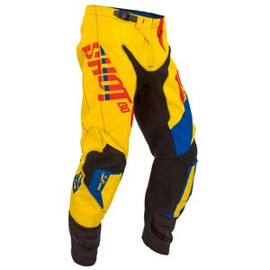 Pantalon Cross Shot Destockage Flexor System Pant Jaune Bleu Rouge 2016