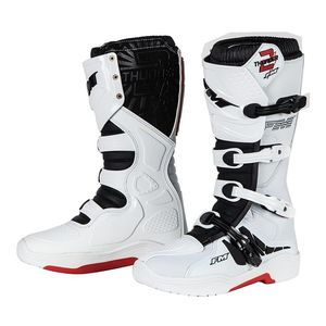 Bottes Cross Fm Racing Thunder 2 White 2018