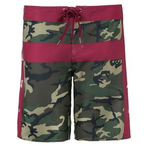 Short FLIGHT MOTH BOARDSHORT  Green Camo