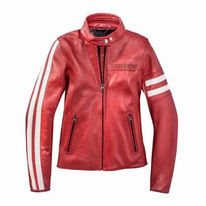 Blouson FRECCIA72 WOMAN  RED/WHITE-S