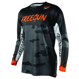 Maillot cross DEVO CAMO - NEON ORANGE 2021 Neon Orange
