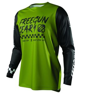 Maillot cross DEVO SPEED KID - KAKI  Kaki
