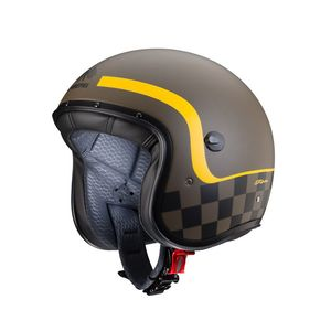 Casque FREERIDE - FORMULA - MATT  Matt Brown Yellow