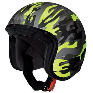 Casque FREERIDE COMMANDER  Camo Jaune