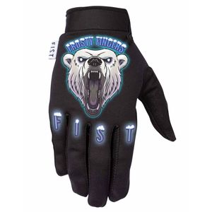 Gants cross FIST FROSTY FINGERS - POLAR BEAR 2021 Black Blue