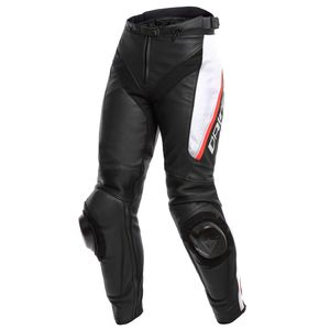 Pantalon DELTA 3 LADY - BLACK WHITE RED  Black/White/Red