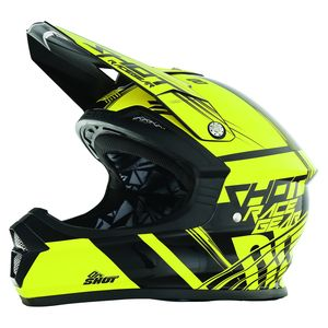 Casque cross FURIOUS CLAW NEON JAUNE  2017 Neon Jaune
