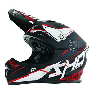 Casque Cross Shot Destockage Furious Infinity Rouge Mat 2017