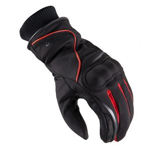 Gants Five Stockholm Waterproof Noir Rouge