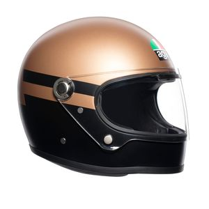 Casque X3000 - SUPERBA  Gold Black