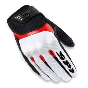 Gants G FLASH  Blanc/Rouge