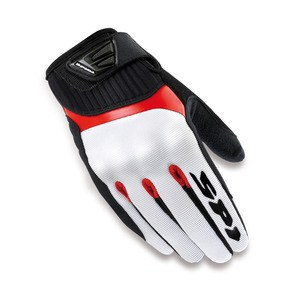 Gants G-FLASH LADY  Blanc/Rouge