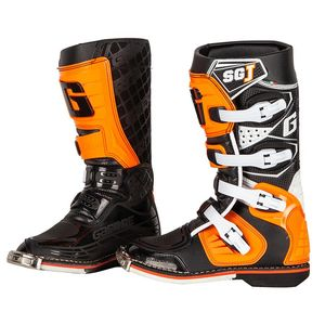 Bottes cross SG.J ORANGE ENFANT  Orange
