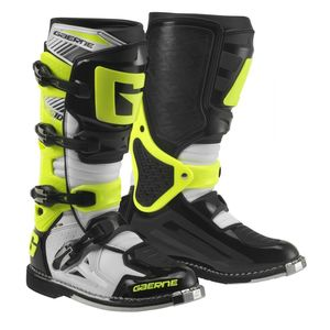 Bottes Cross Gaerne Sg10 White Black Yellow 2017