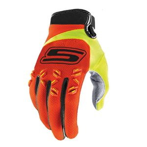 Gants cross GAN095 Orange/Jaune Fluo 2018 Orange/Jaune Fluo