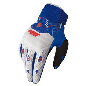 Gants Cross Shot Destockage Contact Lord Blanc Bleu Rouge