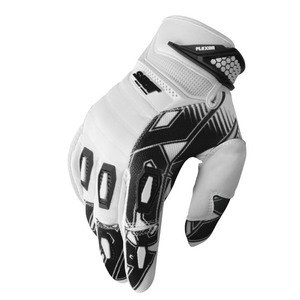 Gants Cross Shot Destockage Flexor Impact Blanc Noir 2013