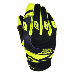 Gants cross CONTACT CLAW NEON JAUNE  2017 Jaune