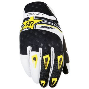 Gants cross CONTACT REPLICA ROCKSTAR  2017 Noir/Blanc
