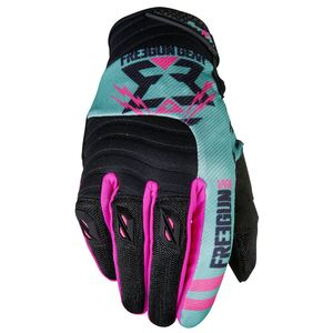 Gants Cross Shot Destockage Contact Trooper Mint Neon Rose 2017