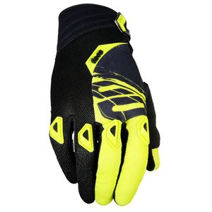 Gants Cross Shot Destockage Devo Fast Neon Jaune Enfant 2017