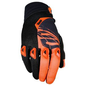 Gants Cross Shot Destockage Devo Fast Neon Orange Enfant 2017