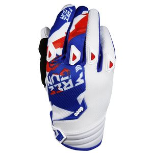 Gants cross DEVO HONOR BLEU ROUGE  2017 Bleu/Rouge