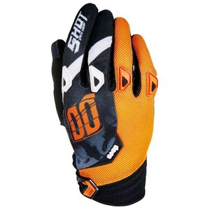 Gants cross DEVO SQUAD ORANGE  2017 Orange