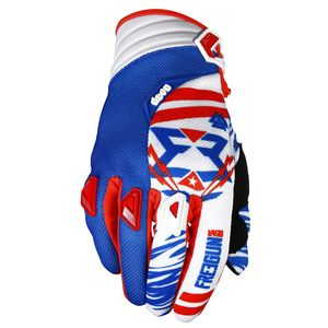 Gants Cross Shot Destockage Devo Trooper Bleu Rouge Enfant 2017