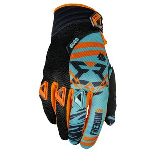 Gants cross DEVO TROOPER MINT ORANGE ENFANT  2017 Vert/Orange