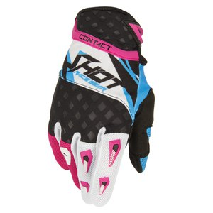 Gants cross CONTACT MAGNETIC GLOVES  2015 Bleu/Rose