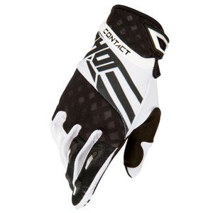 Gants cross CONTACT RACEWAY GLOVE NOIR BLANC  2016 Noir/Blanc