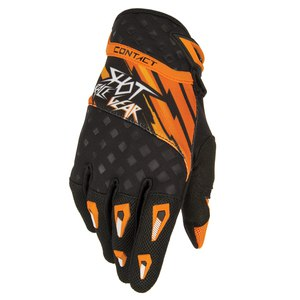 Gants cross CONTACT RAID GLOVES  2015 Orange