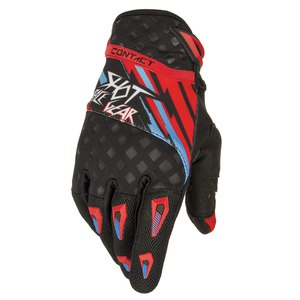 Gants cross CONTACT RAID GLOVES  2015 Rouge/bleu