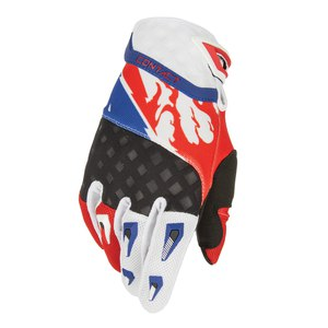 Gants cross CONTACT US GLOVES 2015 Rouge/bleu