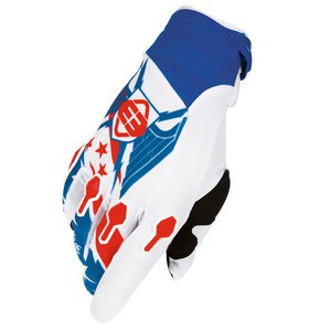 Gants cross DEVO LIBERTY GLOVE BLEU   Bleu