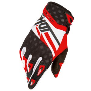 Gants cross CONTACT RACEWAY GLOVE ROUGE   Rouge