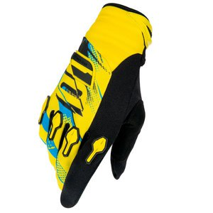 Gants cross DEVO CAPTURE GLOVE JAUNE BLEU   Jaune/bleu