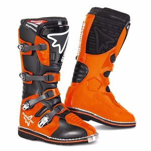 Bottes cross GEAR MX - ORANGE 2018 Orange