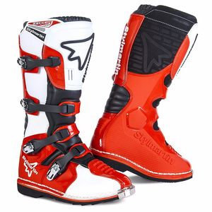 Bottes Cross Stylmartin Gear Mx - Rouge 2018