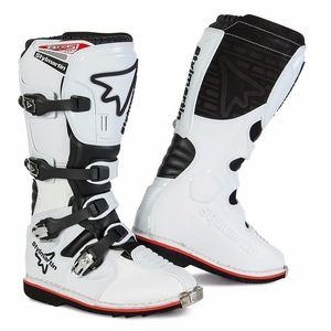 Bottes Cross Stylmartin Gear Mx - Blanc 2018